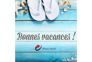 Toute l'équipe Procarist vous souhaite de bonnes vacances !